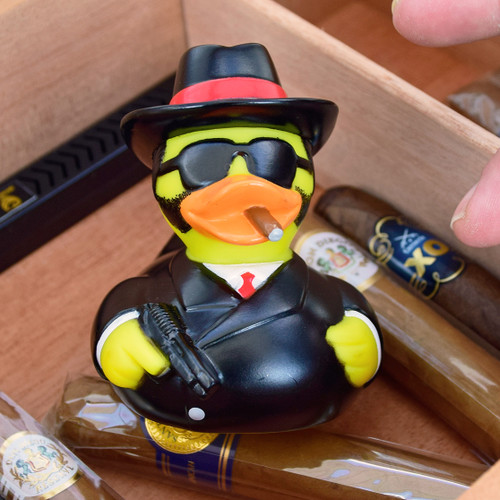 EL Capo Gangster Rubber Duck by LILALU bath toy | Ducks in the Window