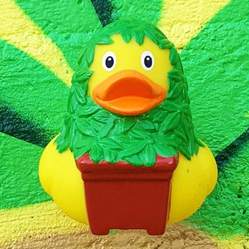 Cannabis Pot Marijuna  Rubber Duck by LILALU bath toy | Ducks in the Window