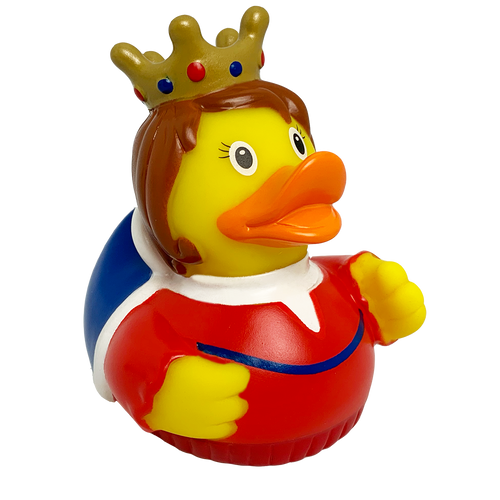 Queen Royal Highness Rubber Duck by LILALU bath toy | Ducks in the Window