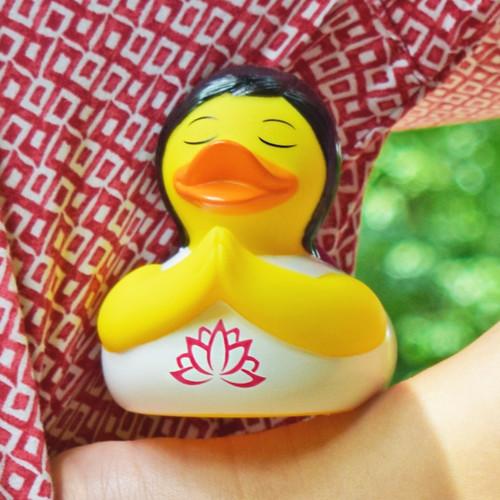 Yoga Rubber Duck