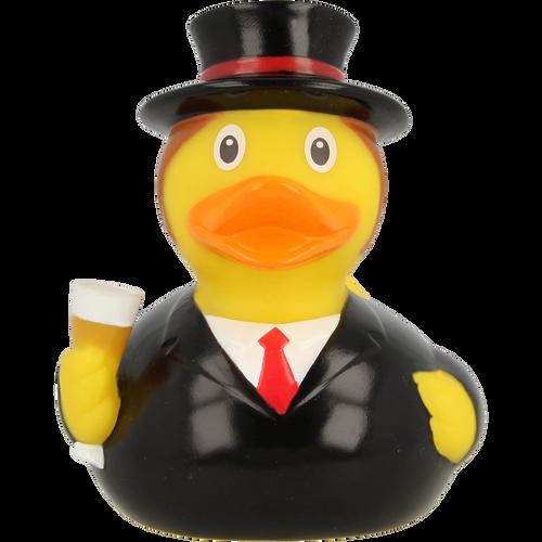 Wedding Groom Rubber Duck by LILALU bath toy | Ducks in the Window