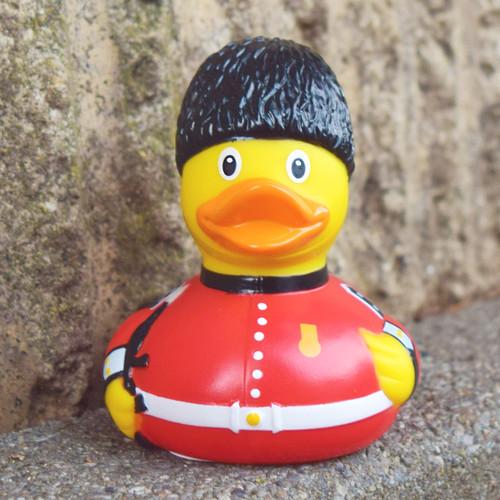 Royal Guardsman Rubber Duck by LILALU bath toy | Ducks in the Window