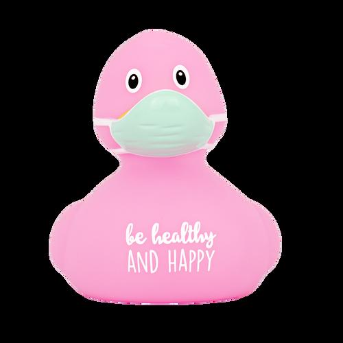 "CORONA Virus ""Be Healthy""  Rubber Duck by LILALU bath toy | Ducks in the Window"