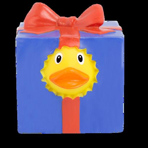 Gift Box  Rubber Duck by LILALU bath toy | Ducks in the Window