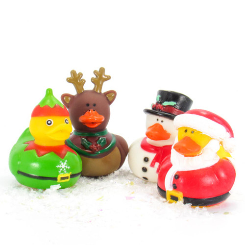 Holiday Christmas Mini Rubber Duck Bundle Special | Ducks in the Window