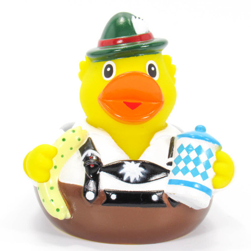 German Octoberfest Rubber Duck by Schnabels | Ducks in the Window®