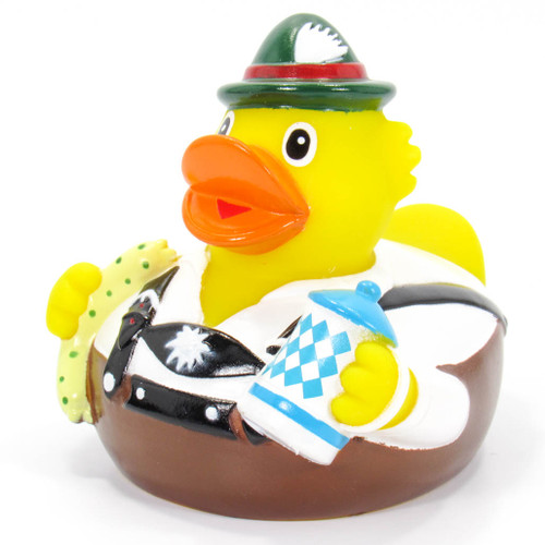 German Octoberfest Rubber Duck Ducks In The Window