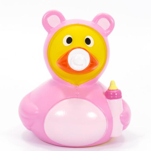 Baby Girl Rubber Duck by Schnabels | Ducks in the Window®