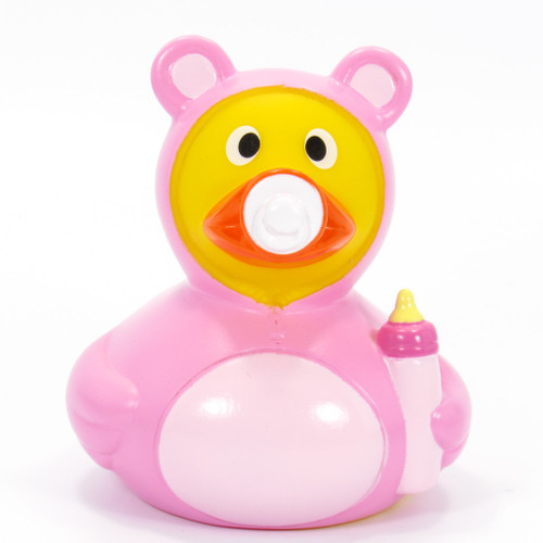 Baby Girl Rubber Duck by Schnabels | Ducks in the Window®