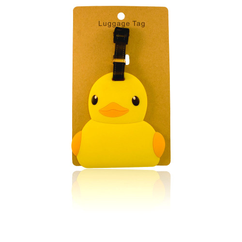 Ducky Luggage Tag (Large)    Ducks in the Window