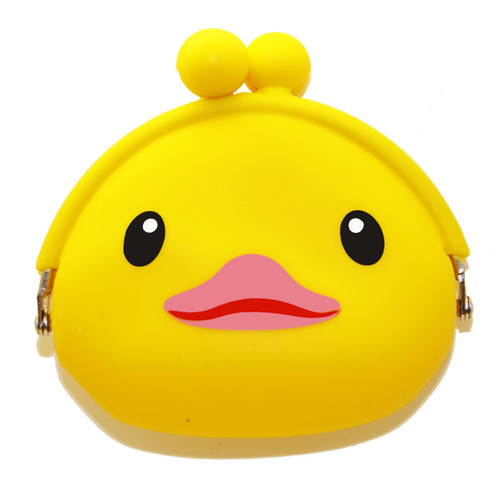 Rubber Duck Coin Purse (soft rubber) | Ducks in the Window