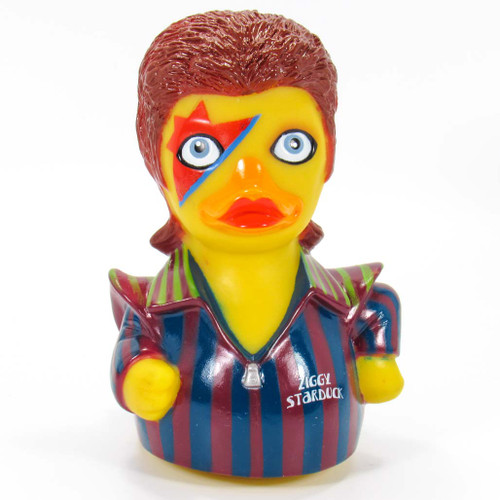 Ziggy Starduck Rubber Duck (David Bowie) by Celebriducks | Ducks in the Window®