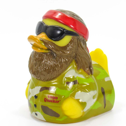 Camo Quaker Rubber Duck (Duck Dynasty) by Celebriducks | Ducks in the Window
