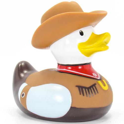 Cowboy Duck Rubber Duck Bath Toy by Bud Duck  Ducks in the Window®