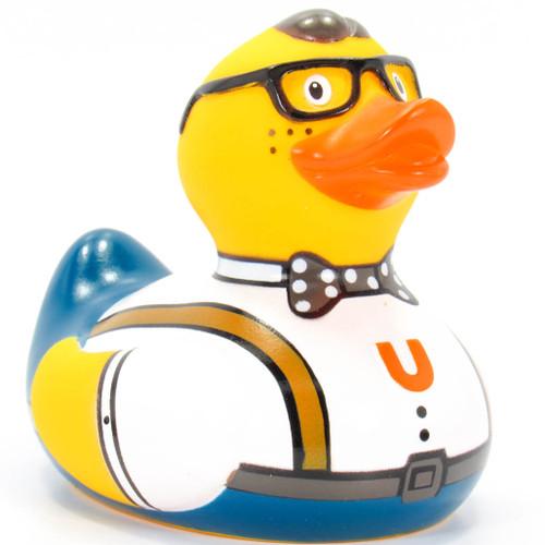 Nerd Duck Rubber Duck Bath Toy By Bud Duck   Ducks in the Window