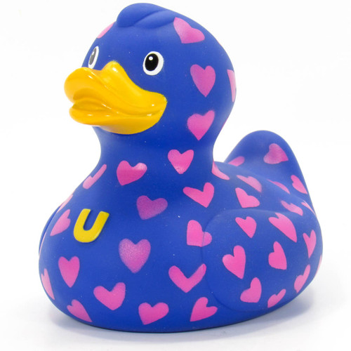 Love Love Love Duck Rubber Duck Bath Toy By Bud Duck | Ducks in the Window