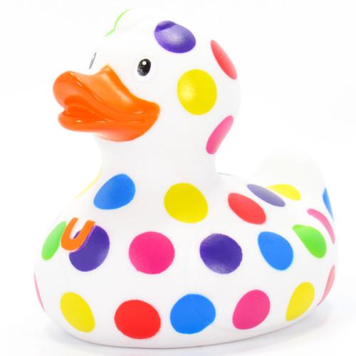 Pop Dot Duck Rubber Duck Bath Toy By Bud Duck | Ducks in the Window