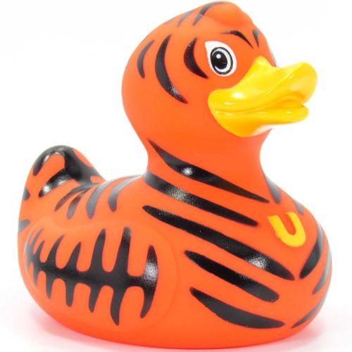 Wild Tiger Duck Rubber Duck Bath Toy By Bud Duck | Ducks in the Window