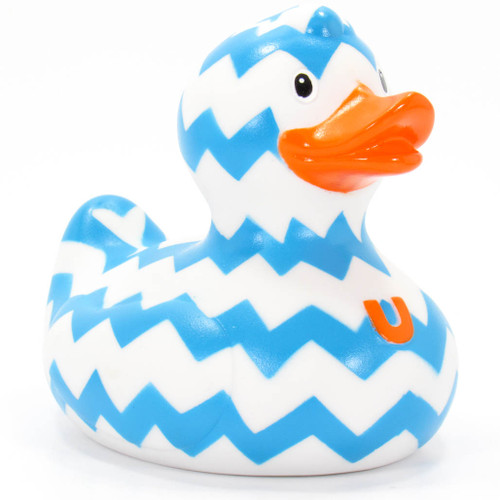 Zig Zag Duck Rubber Duck Bath Toy By Buds Duck | Ducks in the Window