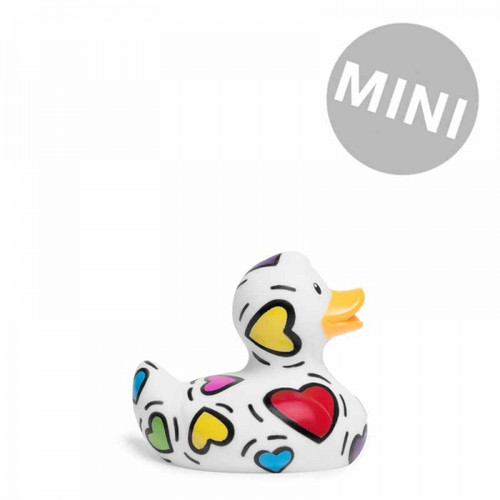 Pop Heart Duck Mini Rubber Duck Bath Toy by Bud Duck | Ducks in the Window