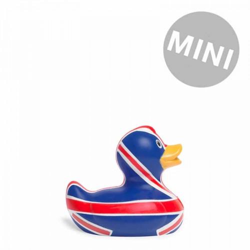 Brit Duck Mini Rubber Duck (England Union Jack) by Bud Ducks   Ducks in the Window