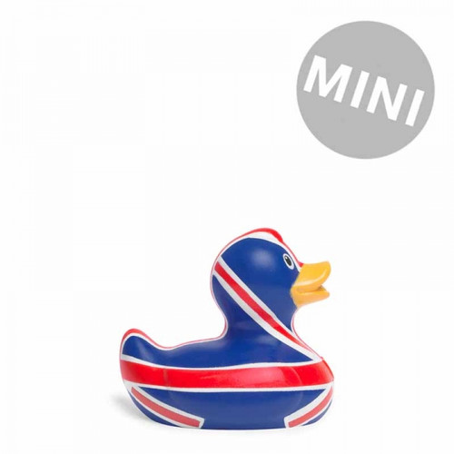 Brit Duck Mini Rubber Duck (England Union Jack) Both Toy by Bud Ducks | Ducks in the Window