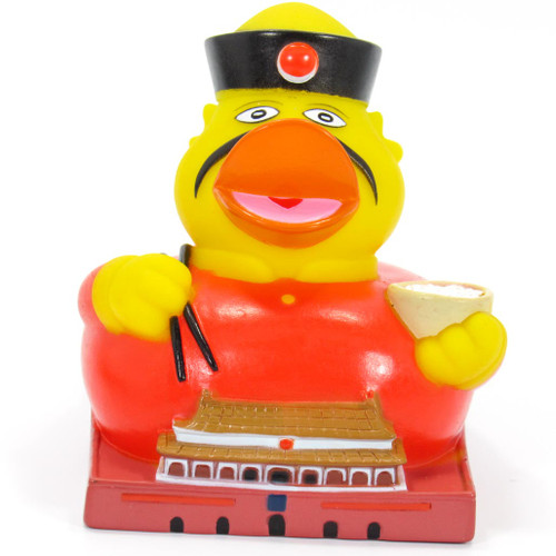 Peeking Rubber Duck (China) | Ducks  in the Window