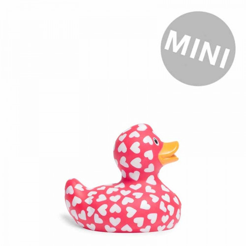 I Love You Duck Mini Rubber Duck Bath Toy by Bud Duck | Ducks in the Window®