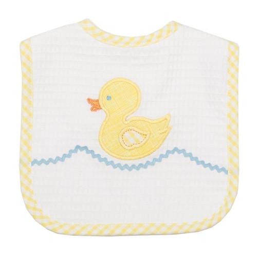 Yellow Duck Feeding Bib by 3 Marthas   Ducks in the Window®