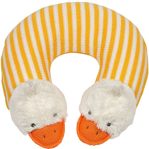 Quackers the Duck Travel Neck Pillow by Maison Chic | Ducks in the Window®