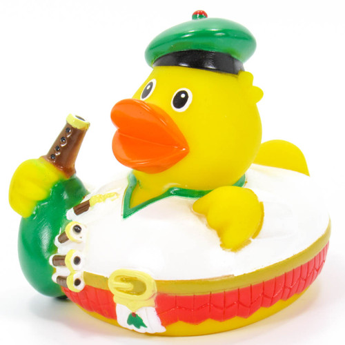 Scottish Bagpiper  RubberDuck by Schnabels | Ducks in the Window®