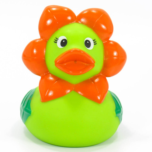 Flower RubberDuck by Schnabels | Ducks in the Window®