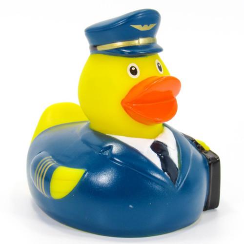Airline Pilot  RubberDuck by Schnabels | Ducks in the Window®