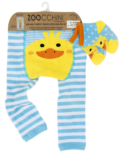 Duck Crawler legging and sock set by ZooChini | Ducks in the Window®