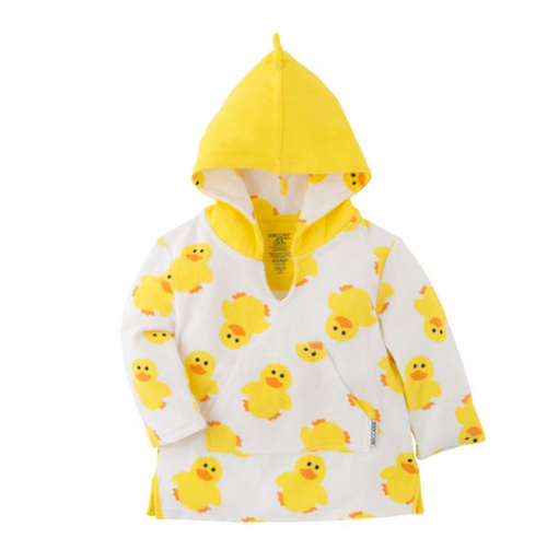 Duck Terry Cloth  Baby Coverup by Zoocchini | Ducks in the Window®