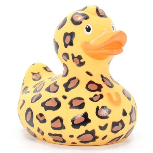 Leopard Rubber Duck Rubber Duck Bath Toy by Bud | Ducks in the Window®