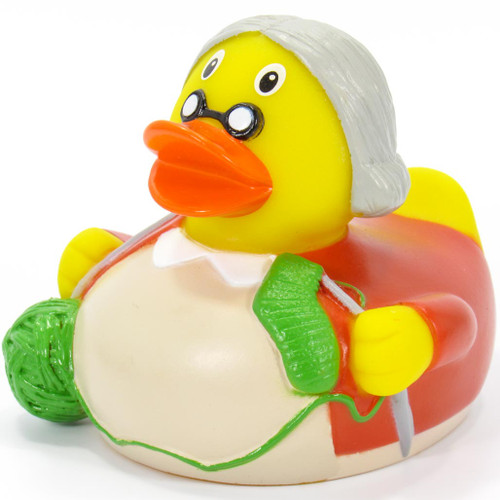Grandmother Rubber Duck by Schnabels   Ducks in the Window®