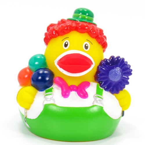 Clown Balloons Rubber Duck by Schnabels | Ducks in the Window®