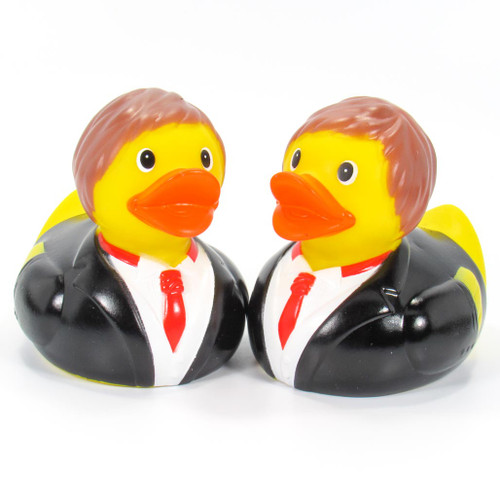 Groom & Groom (Wedding Set) Rubber Duck