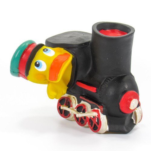 Train Conductor Rubber Duck by Lanco 100% Natural Toy & Organic   Ducks in the Window®