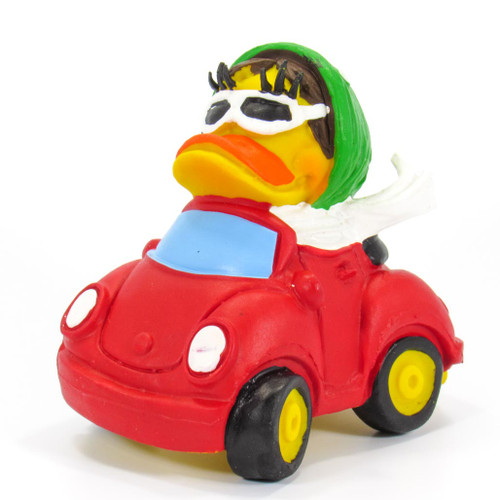 Car Rubber Duck by Lanco 100% Natural Toy & Organic | Ducks in the Window®