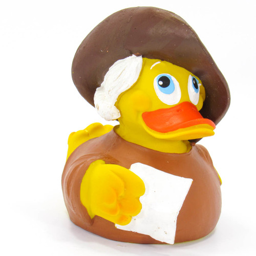 Goeth Actor Rubber Duck by Lanco 100% Natural Toy & Organic | Ducks in the Window®