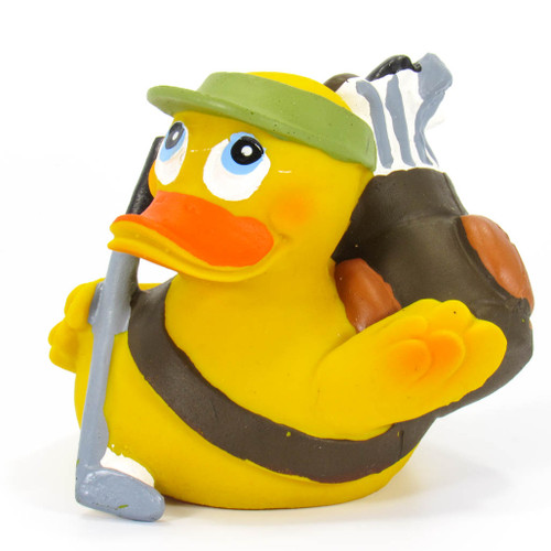Golf Rubber Duck by Lanco 100% Natural Toy & Organic | Ducks in the Window®