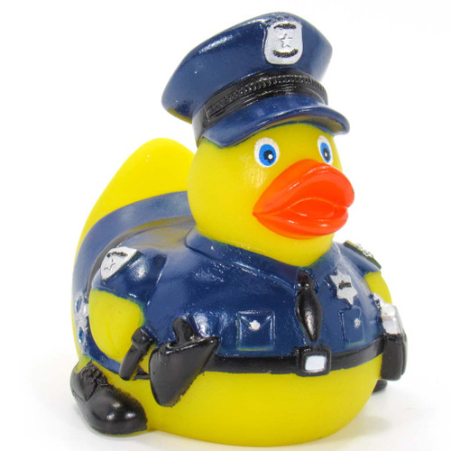 Policeman Rubber Duck (Cop) by Ad Line | Ducks in the Window®