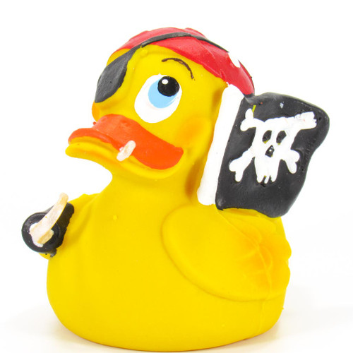 Pirate Buccaneer Rubber Duck by Lanco 100% Natural Toy & Organic | Ducks in the Window®