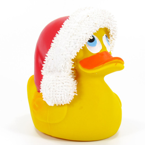 Christmas Santa Rubber Duck by Lanco 100% Natural Toy & Organic | Ducks in the Window®