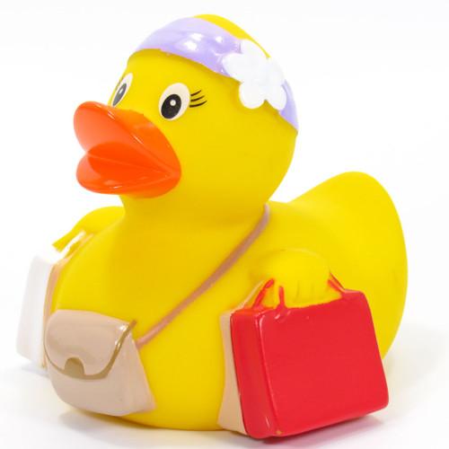 Shopper Rubber Duck by Schnabels | Ducks in the Window®
