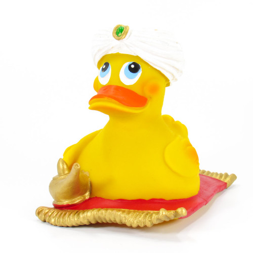 Alibaba Aladdin Genie Rubber Duck by Lanco 100% Natural Toy & Organic | Ducks in the Window®
