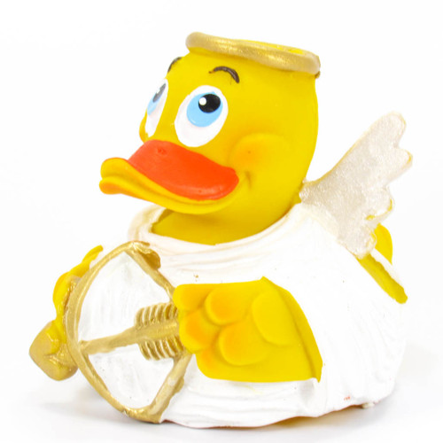 Angel Amore Love Cupid Rubber Duck by Lanco 100% Natural Toy & Organic | Ducks in the Window®