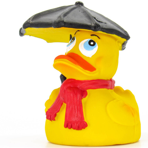 Rain Umbrella Rubber Duck by Lanco 100% Natural Toy & Organic | Ducks in the Window®